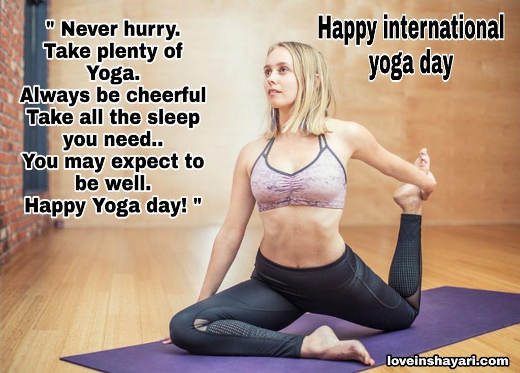 Yoga diwas whatsapp status 2020