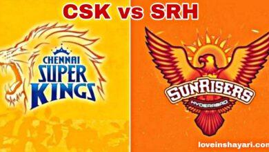 CSK vs SRH status whatsapp status