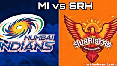 MI vs SRH status whatsapp status